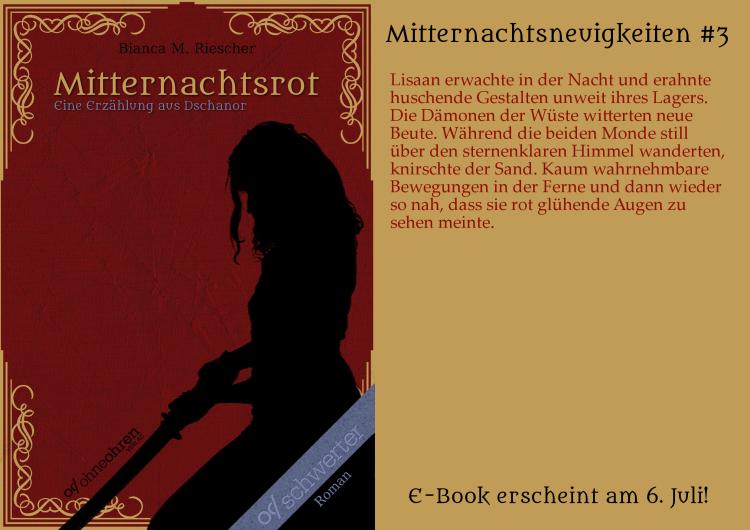 Mitternachtsrot Teaser No. 3 © Verlag ohneohren/Bianca M. Riescher