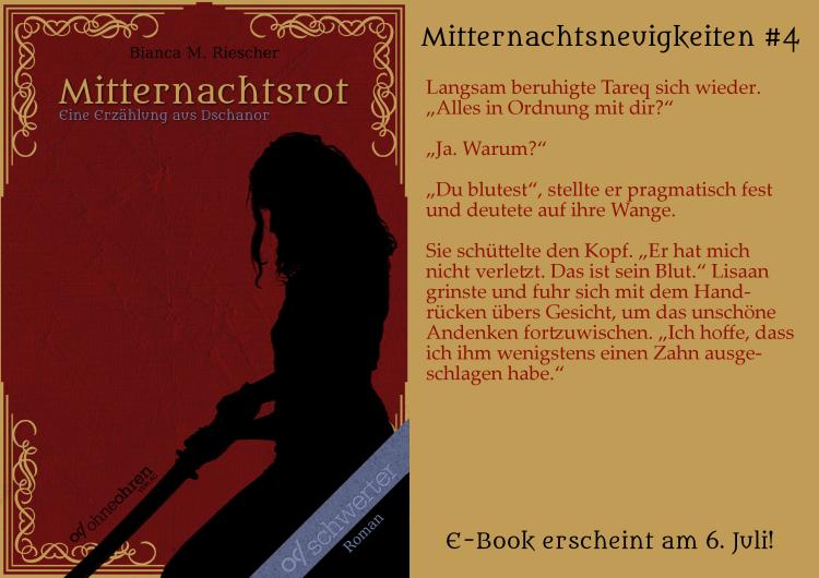Mitternachtsrot Teaser No. 4 © Verlag ohneohren/Bianca M. Riescher