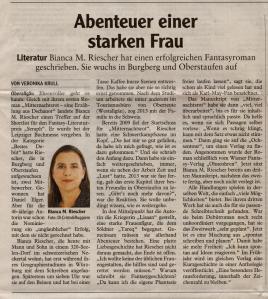 © Autorin: Veronika Krull erschienen im Allgäuer Anzeigeblatt am 23.03.2016